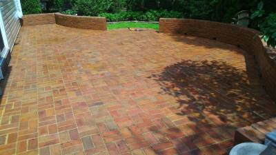 Patio Pavers Clean