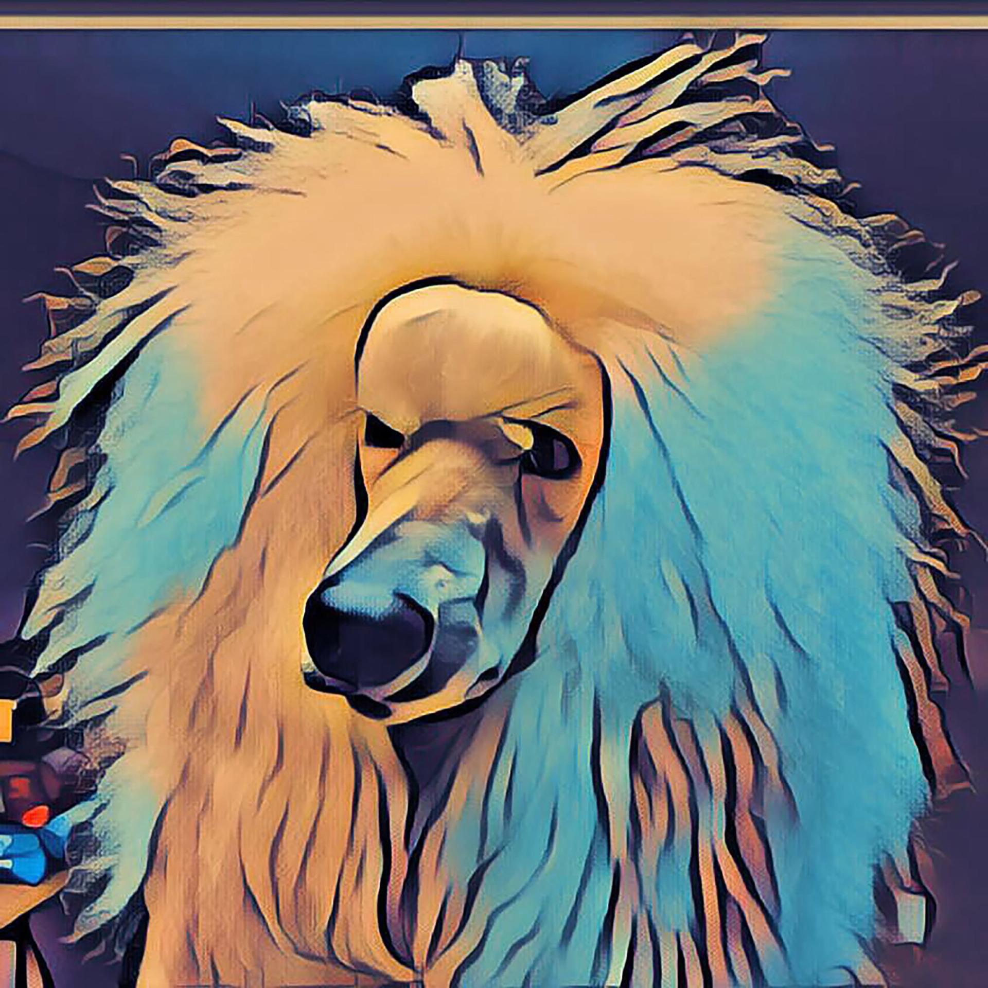 Expert Groomer turns dog hotos into art