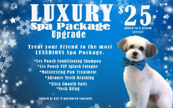 Grooming Spa Package Titusville