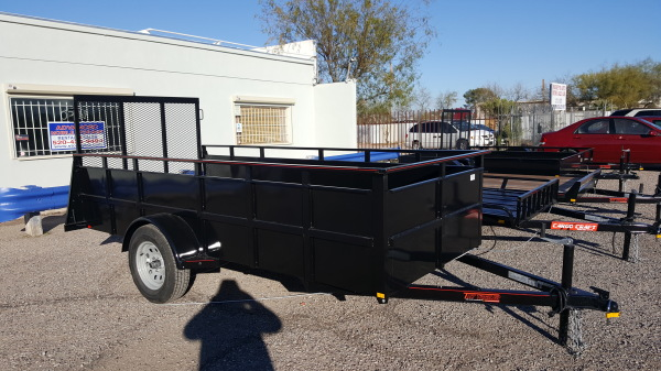 "Landscape Trailer with 24"" Side wall"