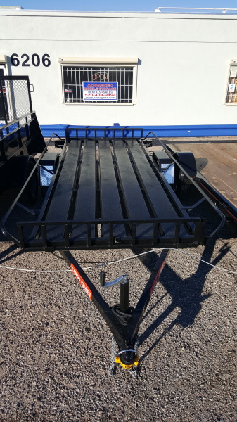 ATV Trailer with Metal Decking