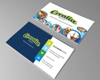 Crealia Boutik Business Card