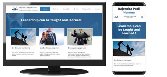 Patil Hunma Leadership Coach Website