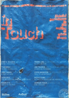 September 2016 /// in Touch conference _ Lund