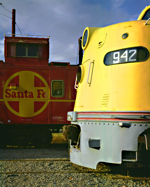 Engine and Caboose