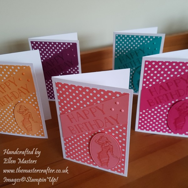 Colour Co-ordinated Cards
