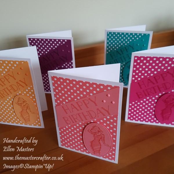Colour Co-ordinated Cards