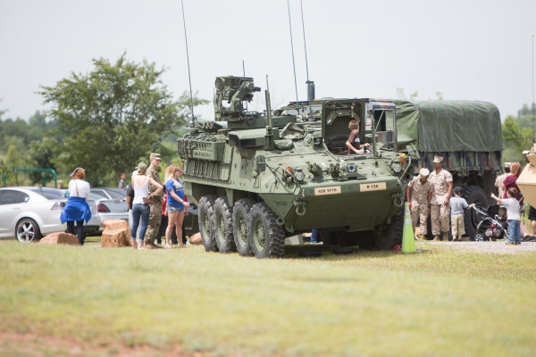 Military Vehicle Displays
