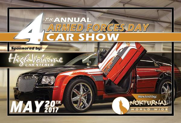 4th Annual Armed Forces Day Car Show