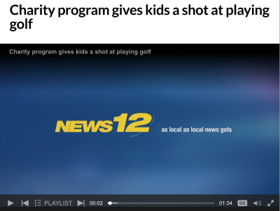 Golf to Give on News 12