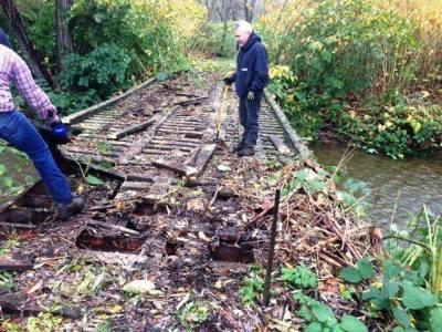 Bridge rebuilding