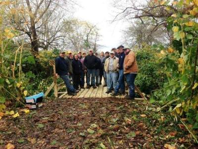 Happy Bridge Crew