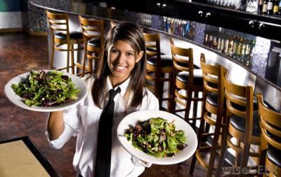 Waitress/Food handler