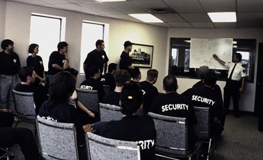 Security training class