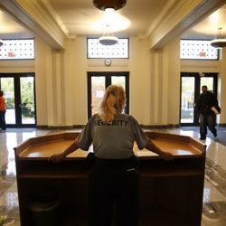 Lobby Security officer