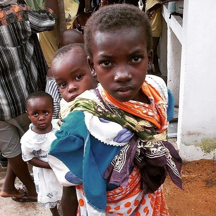 young Kenyan children