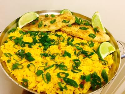 Spanish Yellow Rice with Habanero Iru Twist