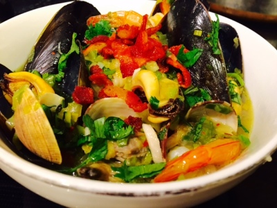 Seafood Comfort Bowl