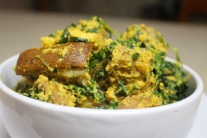 Egusi (Ground Melon Seed) Soup