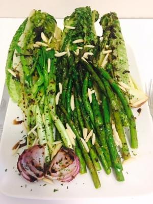 Grilled Spring Vegetables