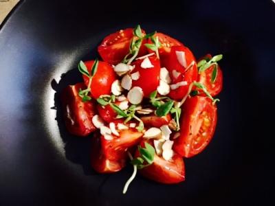 Refreshing Organic Vine Tomato Salad