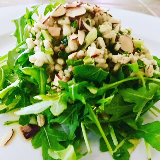 Arugula N Grains Salad