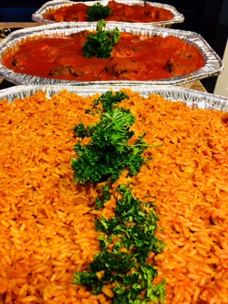 Jollof Rice Stew - Catered