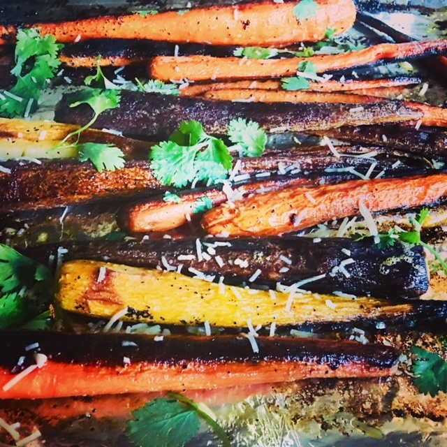 Roasted Organic Carrots