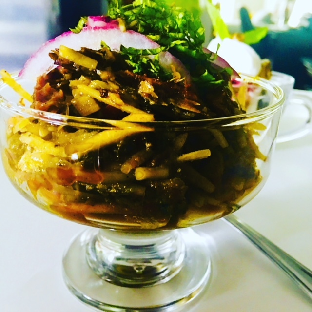 Gourmet Nigerian African Salad