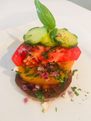 Heirloom Tomatoe Salad