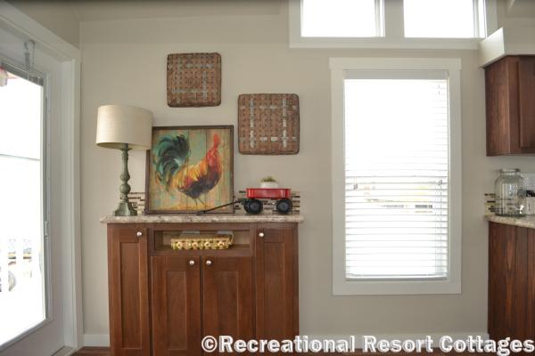 RRC-Platinum Cottages 563SLFP Lakeview entertainment center