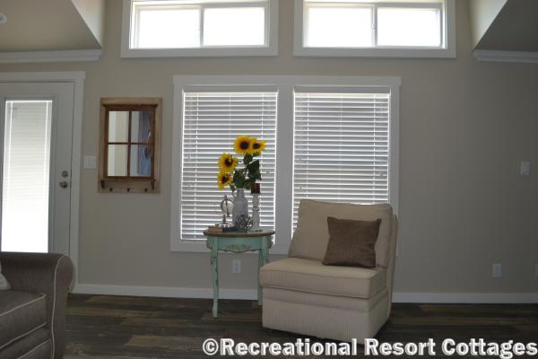 RRC- Platinum Cottages- The Lampasas 646 Living room