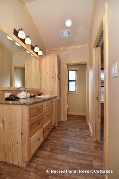 RRC- Platinum Cottages- SanSaba645FP master bathroom