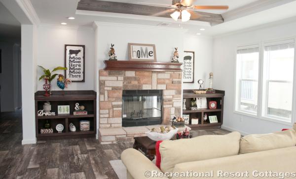 RRC- Athens Park Homes- Classic3256I living room