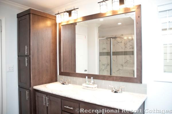 RRC- Athens Park Homes- Classic3256I master bathroom