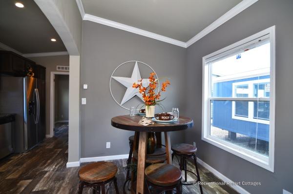 RRC- Athens Park Homes- CC1656A dining area