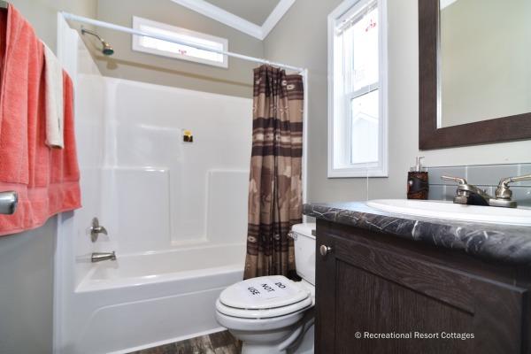 RRC- Athens Park Homes- CC1656A guest bathroom
