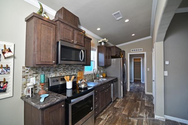 RRC- Athens Park Homes- CC1656A kitchen