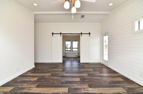 PlatinumCottages-Farmhouse Elly Mae Master Bedroom