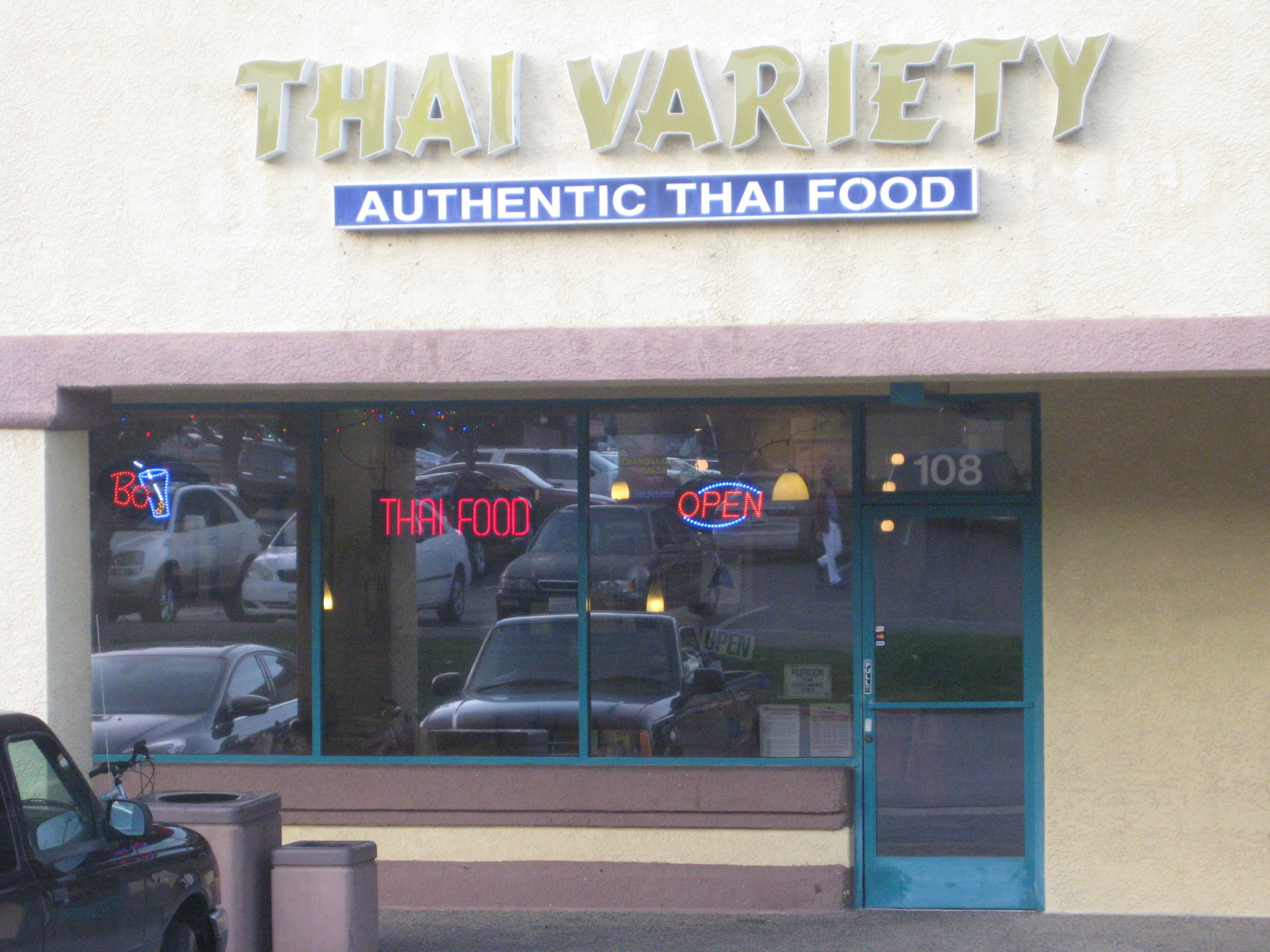 Thai Variety Restaurant Food Corona Ca