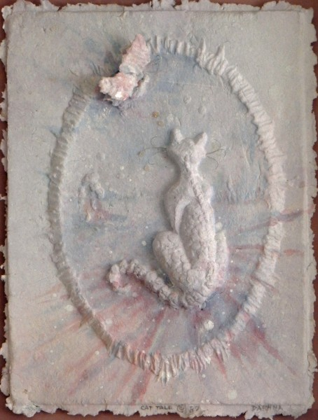 Cat, Moon and Butterfly  $1500