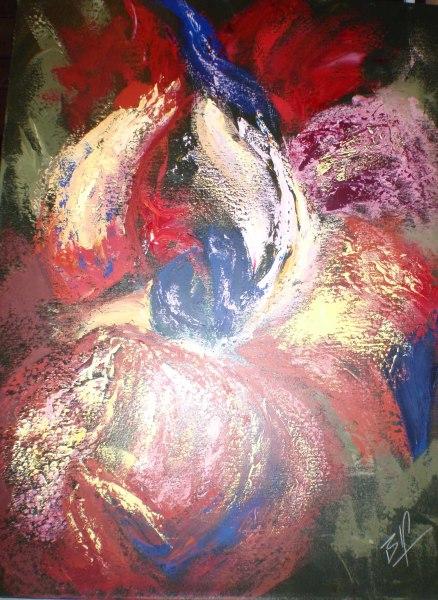 Red Iris    $2500