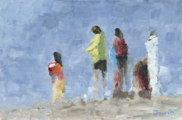 Figures on the Beach B