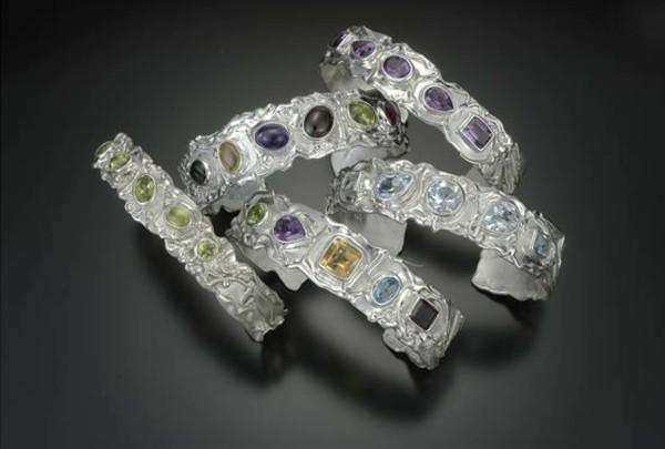 Fused Cuff Bracelets