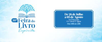 Confira a programação da 30ª Feira do Livro Espírita em Porto Velho