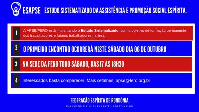Curso de formação permanente da APSE em Porto Velho