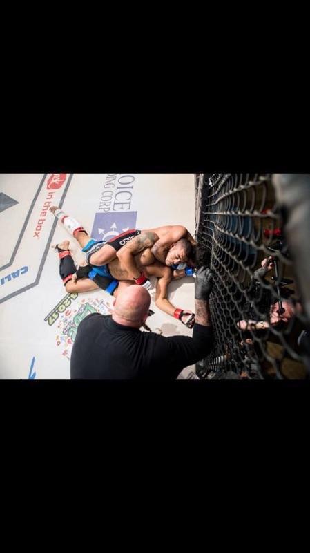 SCFF Amateur Fighter Nate Arevalo