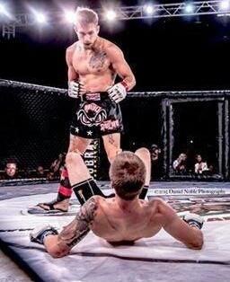 SCFF Pro Fighter Jesse Strader