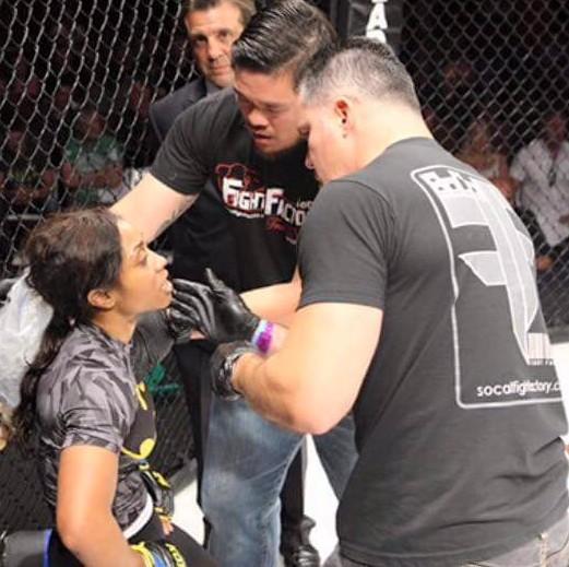 Pro MMA Fighter Danielle Taylor