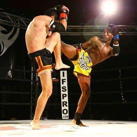 SCFF Amateur Fighter Diante White (right)